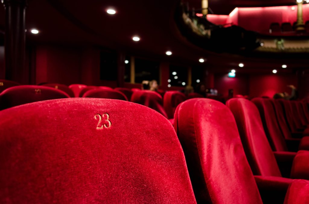 Image of theater seats