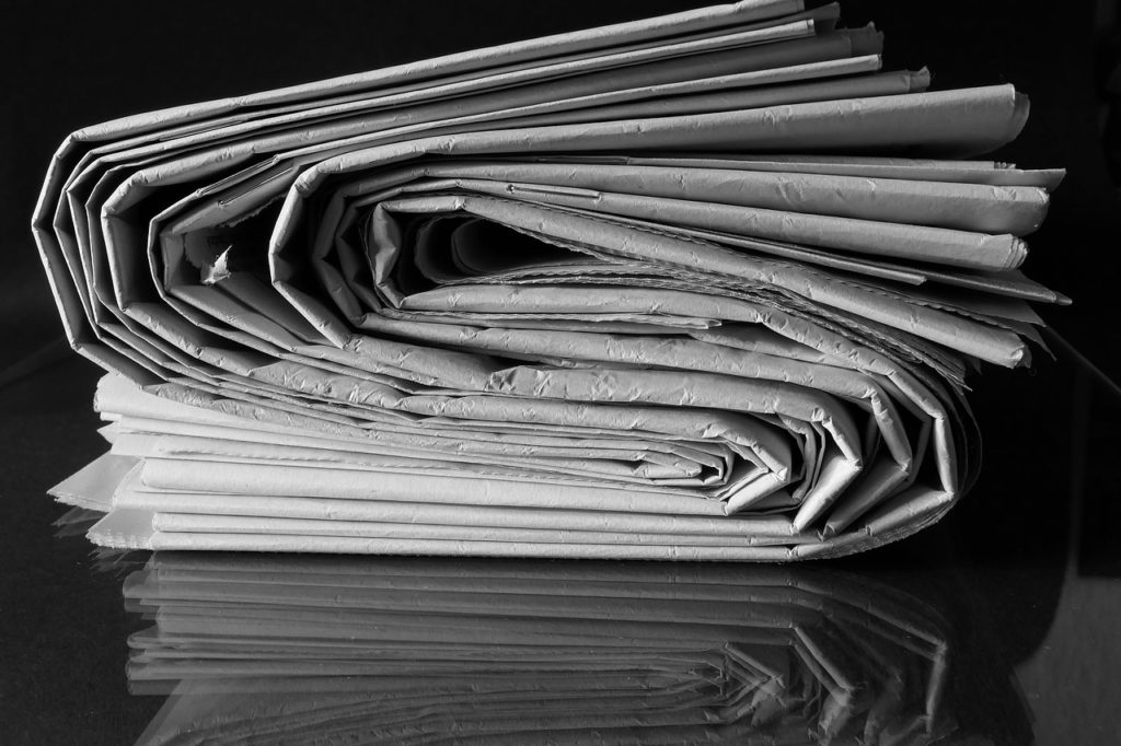 Stack of papers image
